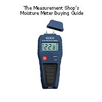 The Measurement Shop's Guide to Moisture Meters