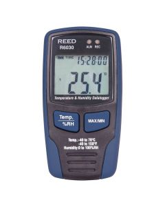 Reed R6030 Temperature and Humidity Datalogger | The Measurement Shop UK