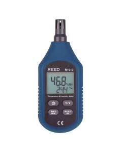 Reed R1910 Temperature & Humidity Meter | The Measurement Shop UK