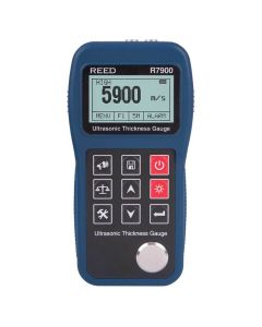 Reed R7900 Ultrasonic Thickness Gauge, 15.7"