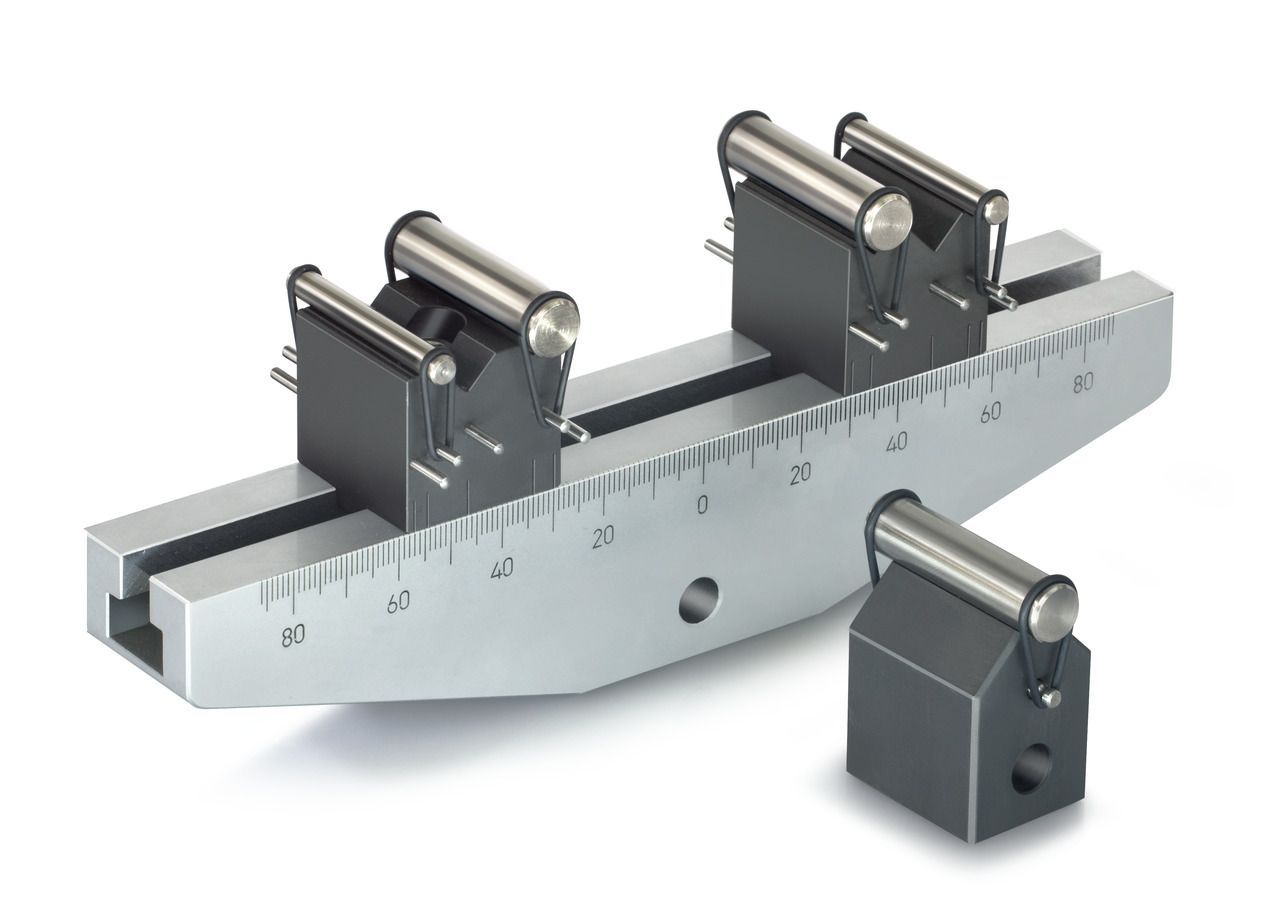 AD 9315 Small 3 Point Bending Device [Anodised aluminium]