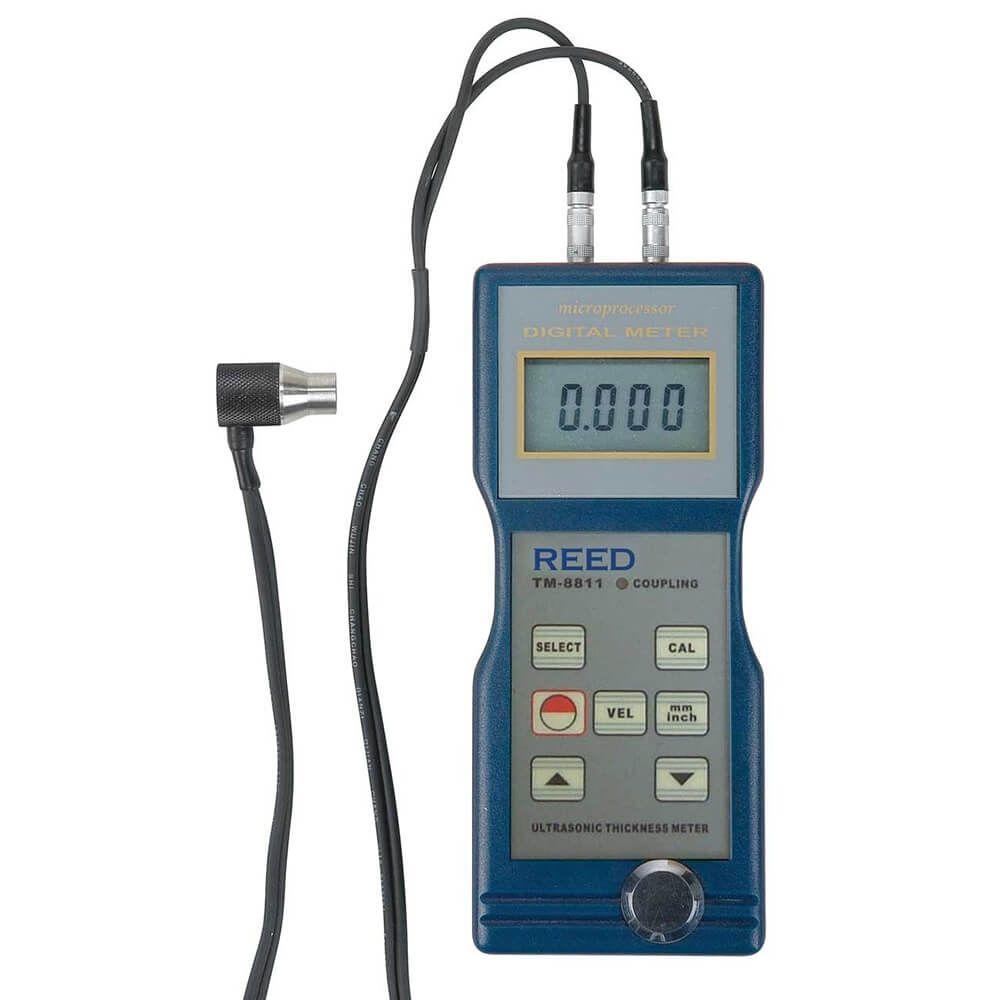 "Reed TM-8811 Ultrasonic Thickness Gauge 0.05/7.9"", 1.5/200MM"