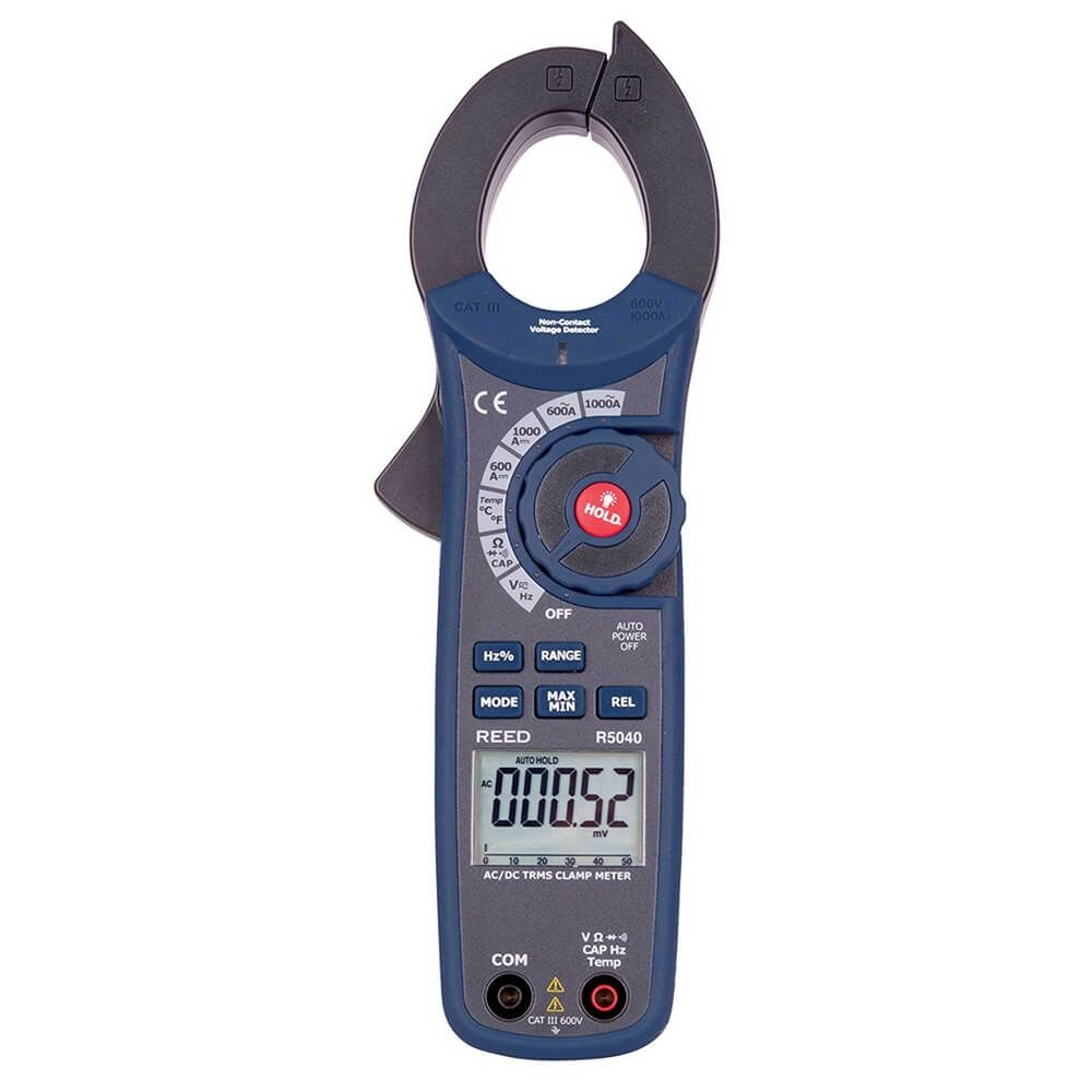 Reed R5040 1000A AC/DC Clamp Meter