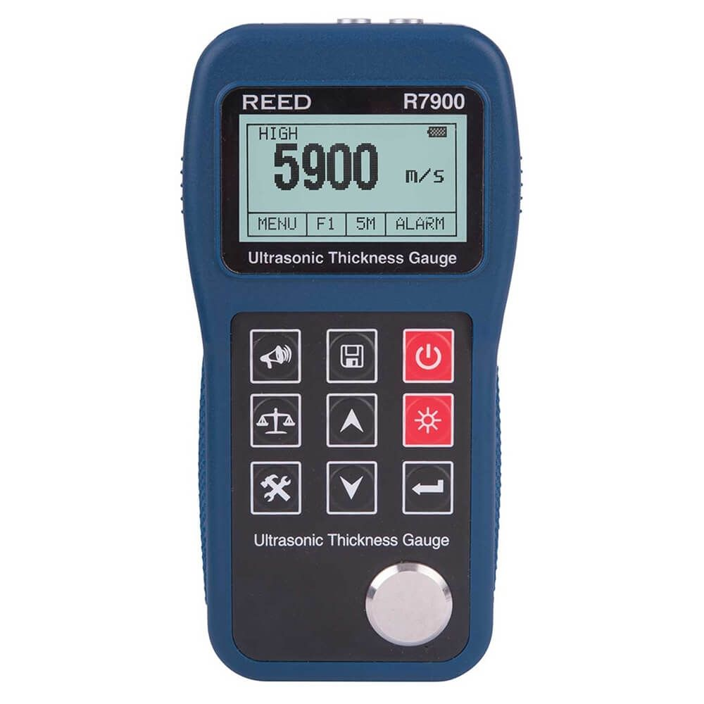 """Reed R7900 Ultrasonic Thickness Gauge, 15.7"""""""