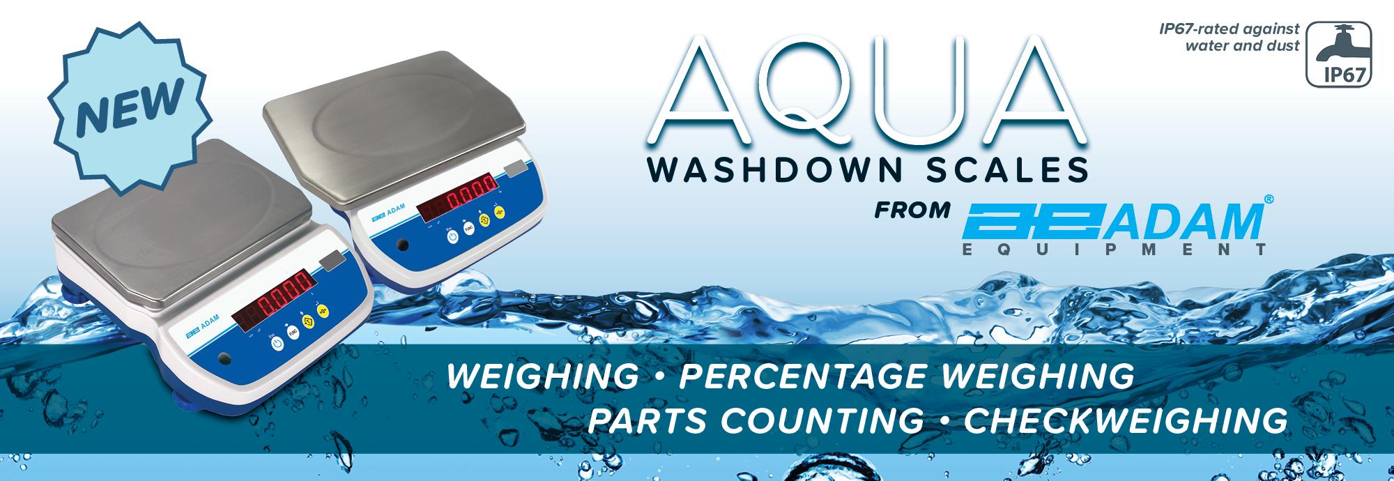Wash Down Bench Scale Aqua from Adam Equipment