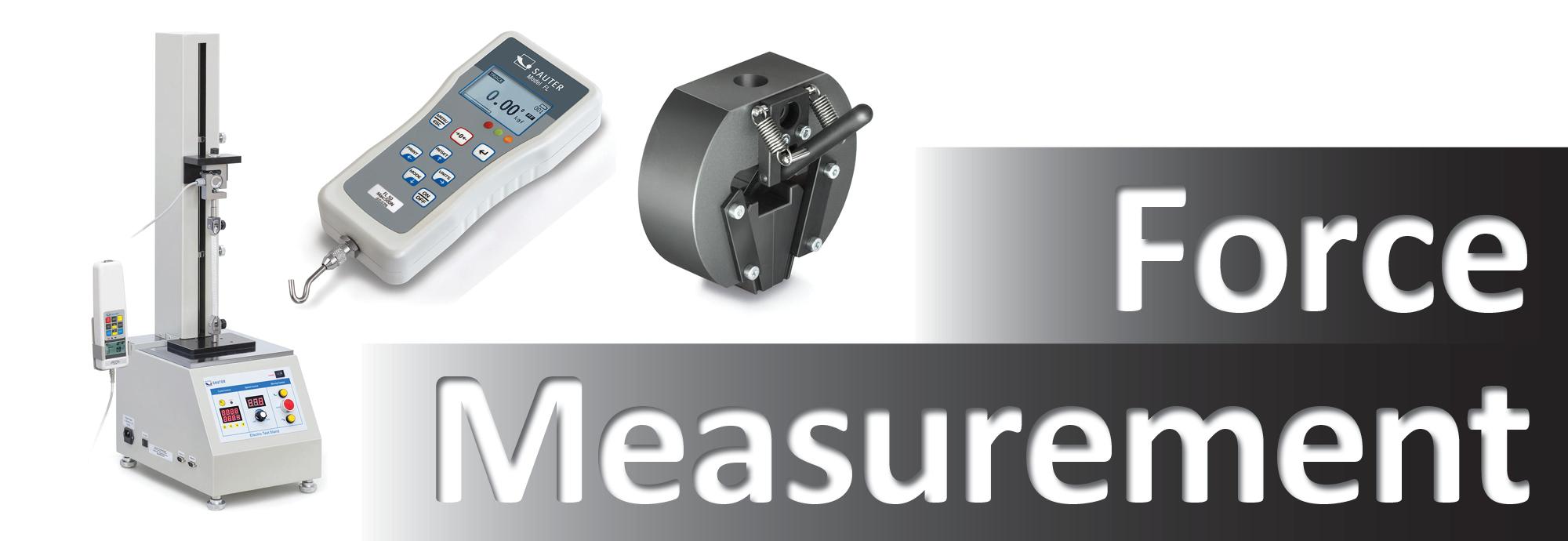 Complete range of force gauges and test stands