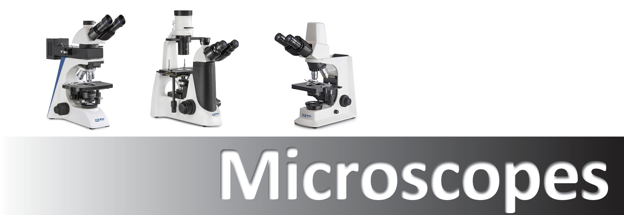 Huge range of microscopes from compound to metrology